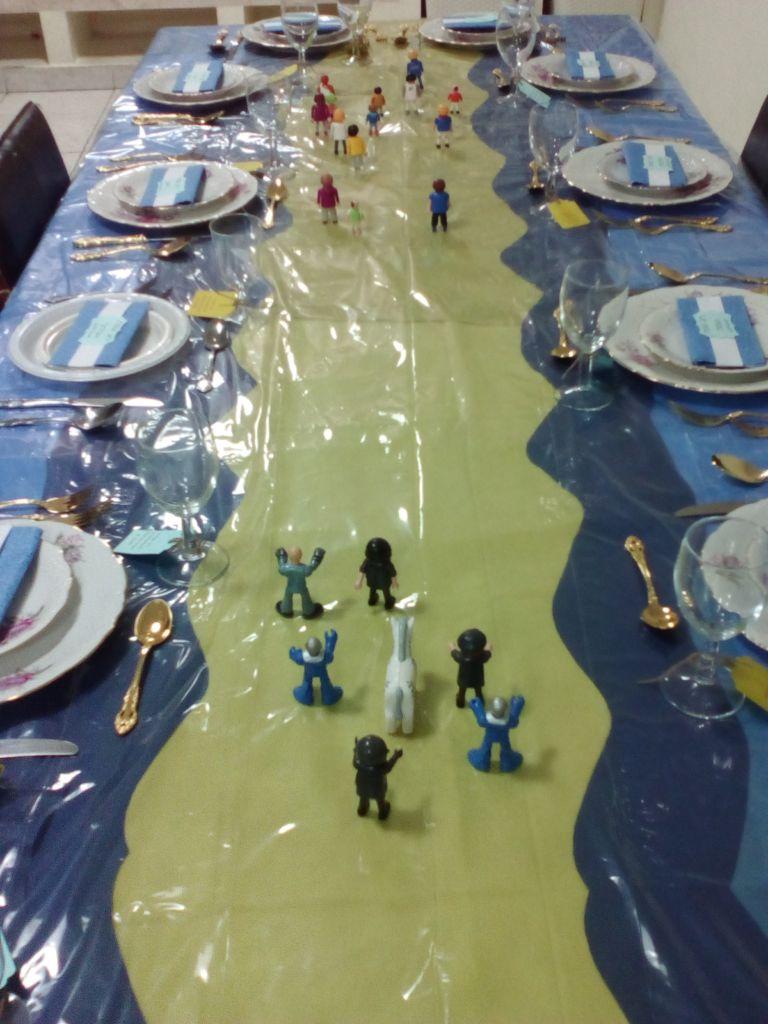 יציאת מצרים על שולחן חג הפסח