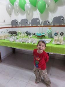 מזל טוב אביתר בן 4 יום הולדת פילים