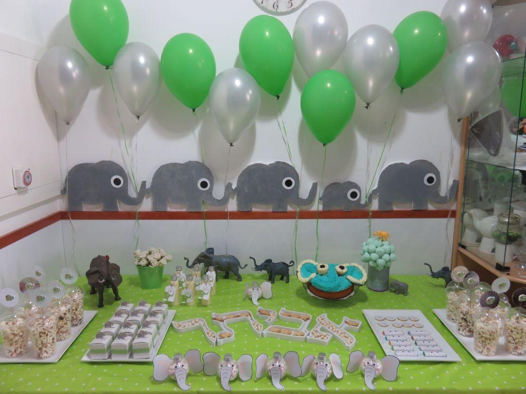 שולחן מעוצב -יום הולדת פילים