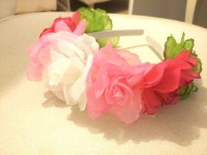 עיצוב קשתות מפרחים מלאכותיים